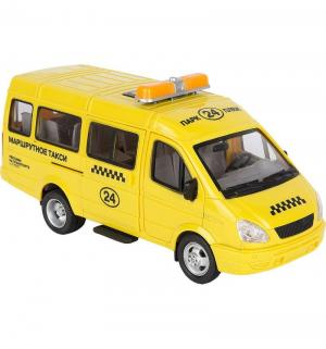 Автомобиль  Газель 3221 Такси со светом и звуком 20 см JOY TOY