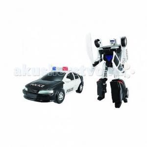 Трансформер-машина Робот Полиция Happy Well