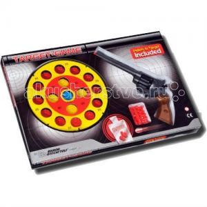Игрушечный Набор оружия с пистолетом, мишенью и пульками Champions-Line Target Game Edison