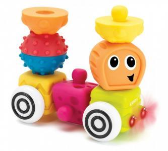 Развивающая игрушка  Набор фигурок Sensory 12 шт. Infantino