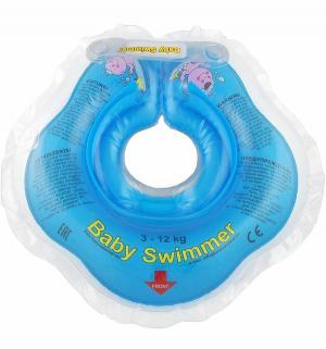 Круг  На шею, цвет: голубой Baby Swimmer