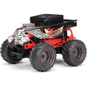 Радиоуправляемая машинка  Monster Truck 1:24, черная New Bright. Цвет: черный