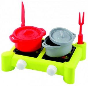 Игровой набор плита с аксессуарами 26 см Ecoiffier