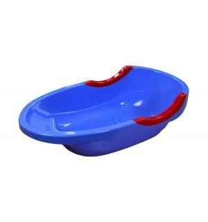 Ванна детская большая  Малышок люкс, цвет: синий Альтернатива