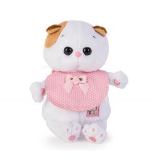Мягкая игрушка  Малышка Ли-Ли в розовом слюнявчике 20 см Basik&Ko