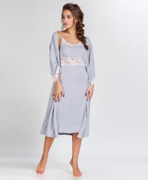 Сорочка и халат Ласса 2 Pastilla