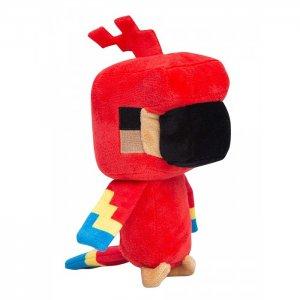Мягкая игрушка  Happy Explorer Parrot 18 см Minecraft