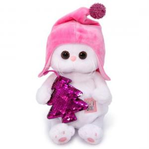 Мягкая игрушка  Кошечка Ли-Ли BABY с елочкой 20 см Budi Basa