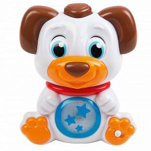 Интерактивная игрушка  Собачка со сменой эмоций Clementoni. Цвет: разноцветный