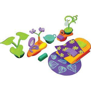 Набор мебели  Спальня, с фиолетовым ковром Monchhichi. Цвет: разноцветный