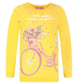 Джемпер  Hello Spring, цвет: желтый Free Age