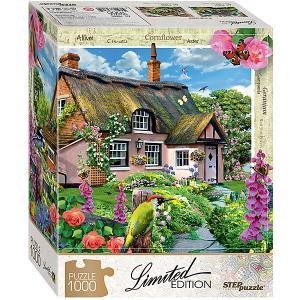 Мозаика puzzle 1000 Розовый коттедж (Limited Edition) Степ Пазл