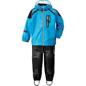 Комплект Didriksons Spray: куртка и полукомбинезон. Цвет: голубой