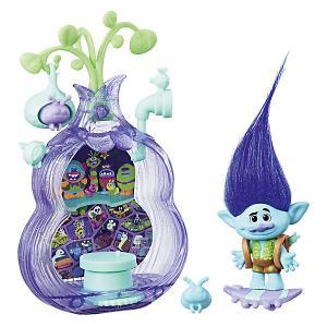 Игровой набор Trolls Волшебный кокон Бункер Hasbro. Цвет: синий
