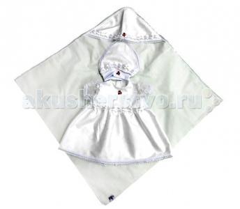Крестильный набор для девочки Мира (3 предмета) Bombus