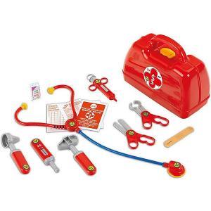 Игровой набор Klein Кейс доктора. Цвет: красный