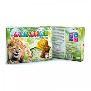 Набор для создания мыла Весёлые звери Инновации детей