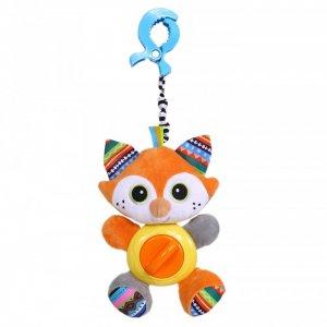 Подвесная игрушка  на прищепке Лисенок Фрэнк 35x16 см Biba Toys