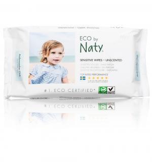Влажные салфетки  Без запаха, 56 шт Naty