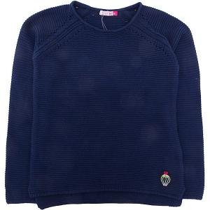 Джемпер  для девочки SELA. Цвет: синий