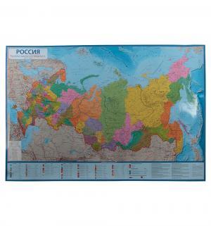 Карта мира 1 : 8.5  Россия Политико-административная 101х70 см (в тубусе) Globen