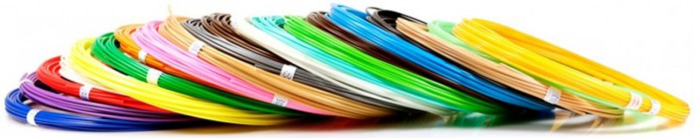 Комплект пластика ABS для 3Д ручек (20 цветов) Unid