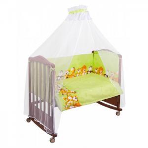 Комплект в кроватку  Африка (6 предметов) Сонный гномик