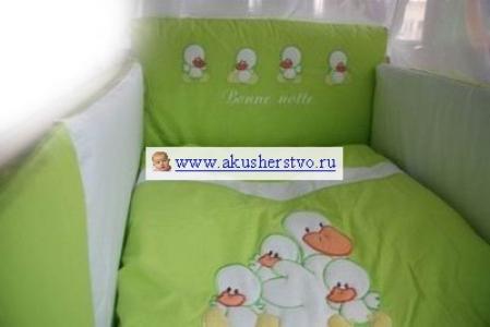 Комплект в кроватку  Four Duck (7 предметов) Tuttolina