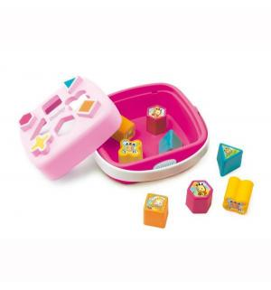 Развивающая игрушка  Сортер-корзинка, розовая Smoby