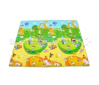 Игровой коврик  Веселая ферма 180х150х1 см BabyPol