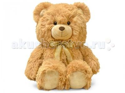 Мягкая игрушка  Медведь с декоративным бантом 38 см Lava