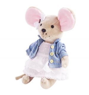 Мягкая игрушка  Мышка шарнирная Бирюсинка Angel Collection