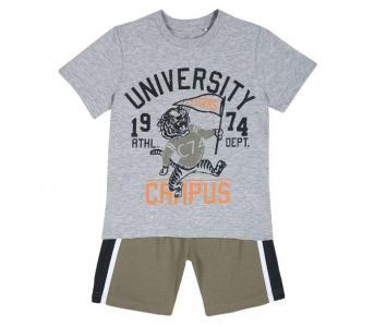 Комплект для мальчиков футболка и шорты 09076312 Chicco