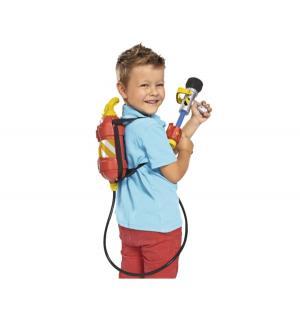 Игровой набор  Брандсбойт с рюкзаком Пожарный Сэм
