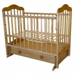 Детская кроватка  Мой малыш 03 (маятник поперечный) Ивашка