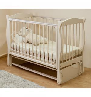 Кровать детская  Уралочка, цвет: слоновая кость Можга