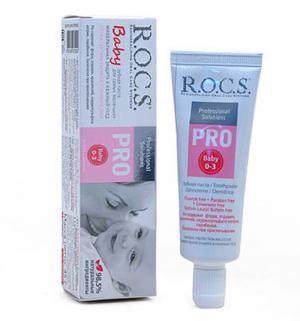 Зубная паста  Baby Pro, до 3 лет, 45 гр R.O.C.S.