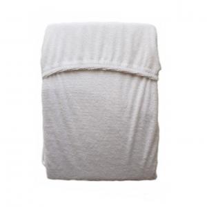 Простыня на резинке  120 х 60 см, цвет: белый Моей крохе