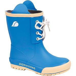 Резиновые сапоги Didriksons Splashman. Цвет: голубой