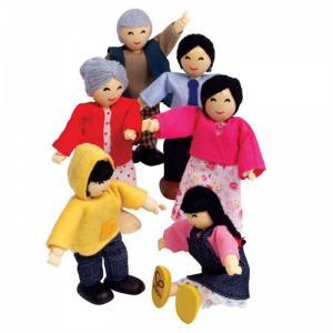 Набор мини-кукол Счастливая азиатская семья Hape