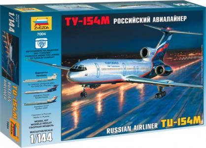 Модель Пассажирский авиалайнер Ту-154 Звезда