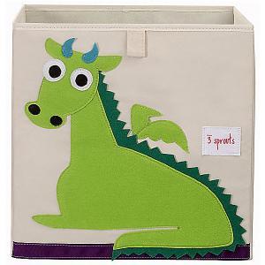 Коробка для хранения , Дракон 3 Sprouts. Цвет: зеленый