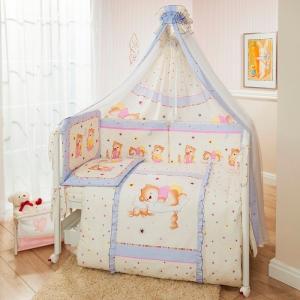 Комплект постельного белья  Ника, цвет: фиолетовый 3 предмета Perina