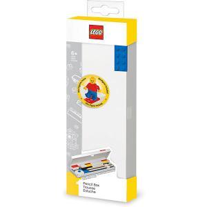 Пенал с мини-фигуркой  Classic LEGO. Цвет: красный/белый