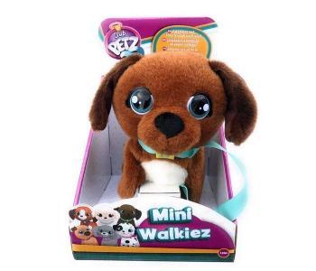Интерактивная игрушка  Club Petz Щенок Mini Walkiez Chocolab IMC toys