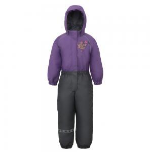 Комбинезон утепленный Naala, цвет: фиолетовый/серый Lappi Kids