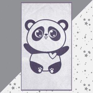 Полотенце махровое Панда 130х70 Этель