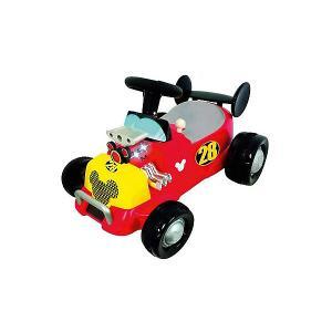 Каталка - автомобиль  Спортивная машина Микки Мауса Kiddieland. Цвет: красный