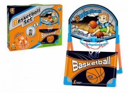 Набор баскетбольное кольцо и мяч 10 см YG Sport