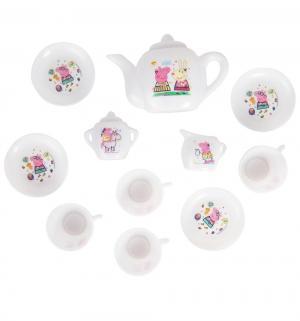Игровой набор  Чаепитие с Пеппой, 12 предметов Peppa Pig